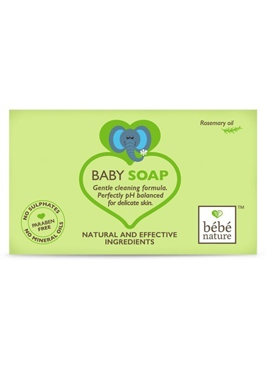Bebe Bebe Nature 100% Baby Soap With Rosemary Oil 100 ML Renksiz